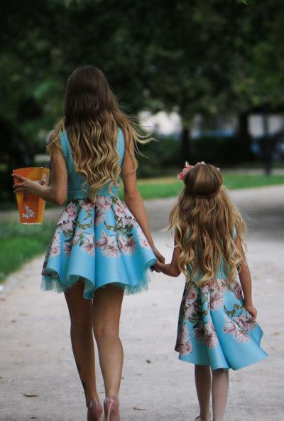 Oblekica otroška svečana Mint Lady